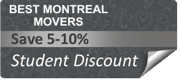 Montreal Student moving discount