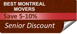 Montreal Senior moving discount